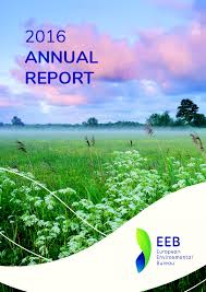 environmental bureau european environmental bureau annual report 2016 eu agenda