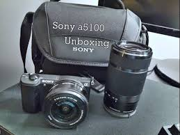 sony a5100 black friday sony a5100 unboxing with 55 210mm u0026 16 50mm lens youtube