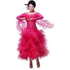 aliexpress com buy 2017 ballroom dance dress dew shoulder tango