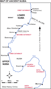 map of ancient nubia bible history online