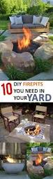 10 diy fire pits you need in your yard