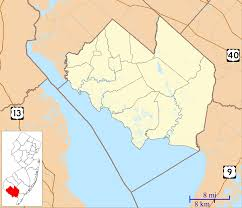 Zip Code Map Virginia by Port Elizabeth New Jersey Wikipedia