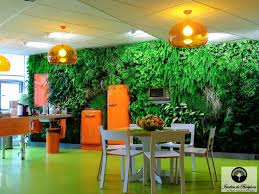 kitchen green walls for a charming cafeteria of ubisoft