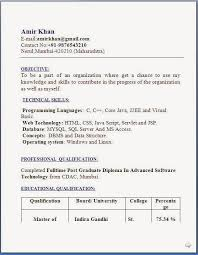 Download Resume Sample In Word Format by Resume Templates
