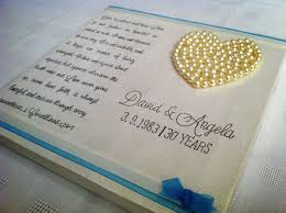 30th anniversary gifts for parents wedding ideas 40thding anniversary invitations wording meaning of
