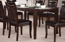 cherry dining room set homelegance maeve dining table dark cherry 2547 72