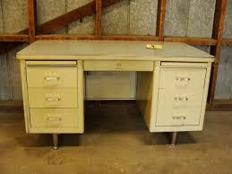 Office Desk Vintage Steelcase Tanker Desk Vintage Industrial Desk Mid Century
