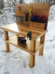 Pallet Table For Sale Kids Pallet Workbench 9 Steps With Pictures