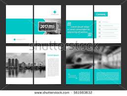 magazine layout size corporate design annual report catalog magazine stock vector 2018