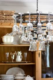 Chandelier Wine Glass Wine Glass Chandelier Creating This Life