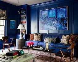 Living Rooms With Blue Couches by Living Room Stunning Blue Living Room Design With Blue Sofa An