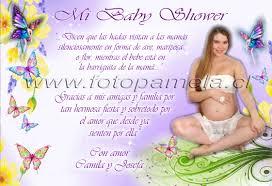invitaciones y recuerdos baby shower