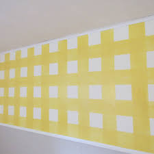 how to paint a gingham wall the family handyman