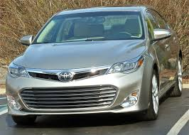 toyota uxs all american avalon sets new standard for toyota