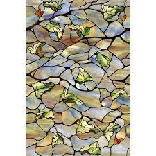 artscape 24 in x 36 in vista decorative window film decorative