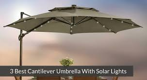 best solar lights for shaded areas 3 best cantilever umbrella with solar lights jpg