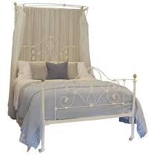 mid victorian cast iron half tester bed mht stdibs mid victorian cast iron half tester bed mht