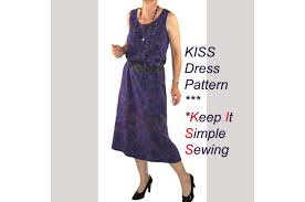 kiss dress sewing pattern keep it simple sewing easy dress