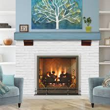 pearl mantels living room blue pearl mantels shenandoahl shelf with original