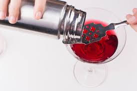 martini pomegranate how to make a pomegranate martini 12 steps with pictures