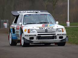 peugeot spor araba peugeot 205 t16 evolution 2 group b 1985 racing cars