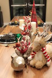 rustic winter christmas tablescape b lovely events