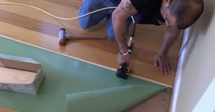 How To Install Hardwood Floors On Concrete Without Glue - floating vs glue down wood flooring city floor supply