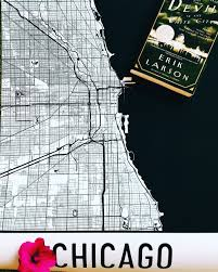 Chicago Street Map by Chicago Modern Map Art Print Blog The Freckled Stylist