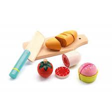 jeux imitation cuisine jeu d imitation cuisine lunch à couper djeco jeujouet com
