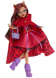 halloween series monster high u0027s clawdeen wolf as little dead