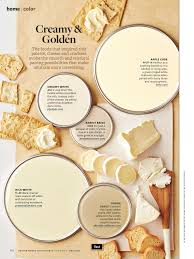 better homes and gardens creamy and golden june 2014 paint