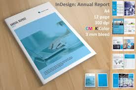 ind annual report template annual report 2018 brochure templates creative market