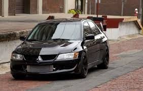 black mitsubishi lancer evo 8 wallpapers group 76