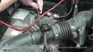 lexus rx300 coolant how to identify and clean a dirty maf sensor lexus youtube