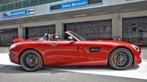 renault kuv mercedes benz amg gt 2017 roadster exterior car photos overdrive