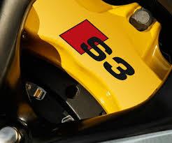 lexus yellow brake calipers product 2 x audi s3 brake caliper decals stickers vinyl