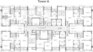 l tower floor plans tata avenida in new town kolkata price location map floor