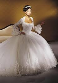 princess ball gown wedding dresses with sleeves wedding short