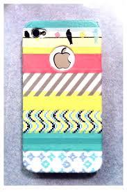 diy washi tape phone case valentine u0027s days