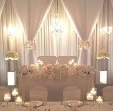 Wedding Backdrop Ideas Wedding Table Backdrop Ideas 6226