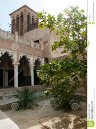 House Courtyard Typical Arabian House Stock Photo Image 47515322