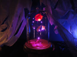 beauty and the beast light up rose you can now get your very own magical enchanted rose just like