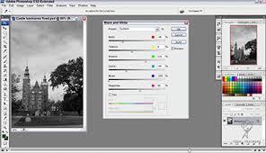 tutorial photoshop cs3 videos black and white adjustment tool free adobe photoshop cs3 video