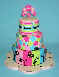 3 tier colorful baby shower cake jpg hi res 720p hd