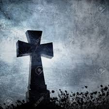 halloween background images grunge image of a cross in the cemetery perfect halloween