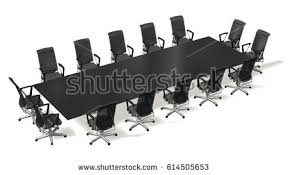 Boardroom Meeting Table Conference Table Stock Illustration 1851383 Shutterstock