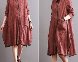 women linen clothing etsy