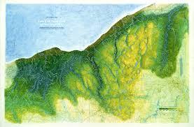 Cleveland Ohio Map Greencitybluelake Watersheds Of Northeast Ohio