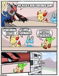 X All The Things Meme Generator - pokemon board meeting imgflip