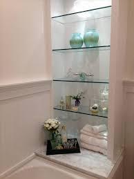 White Bathroom Shelves - bathroom stunning bathroom design ideas with white wood panel and